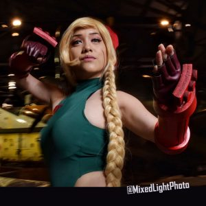 @RinCosplayNYC as Cammy from Street Fighter