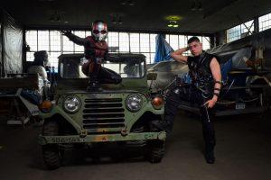 Ant-Man (@the_lawless_gentleman) & Hawkeye (@nycc.bugle)
