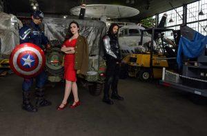 Members of The NY Avengers, @call_me_cap_brooklynkid, @rebzdeladisco, @raf_bucky_barnes
