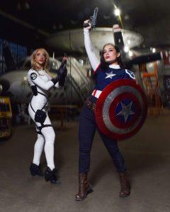 @BabsButcher as Captain Carter and @CodeNameCitadel as Sharon Carter