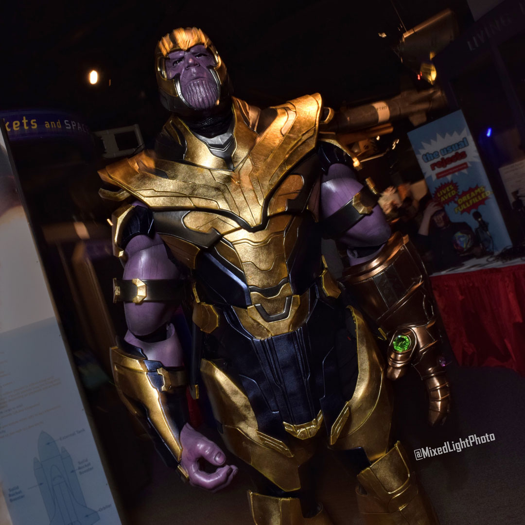 @champumagic as Thanos