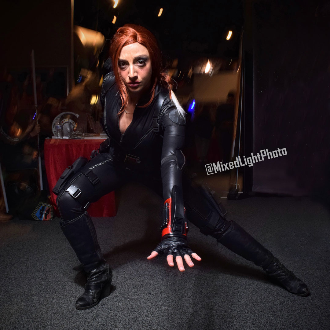 @CodeNameCitadel as Black Widow