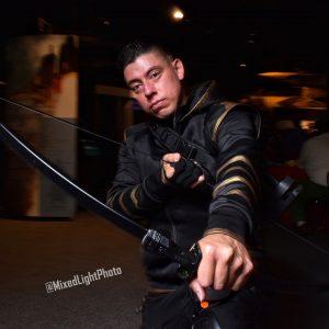@nycc.bugle as Clint Barton, Hawkeye