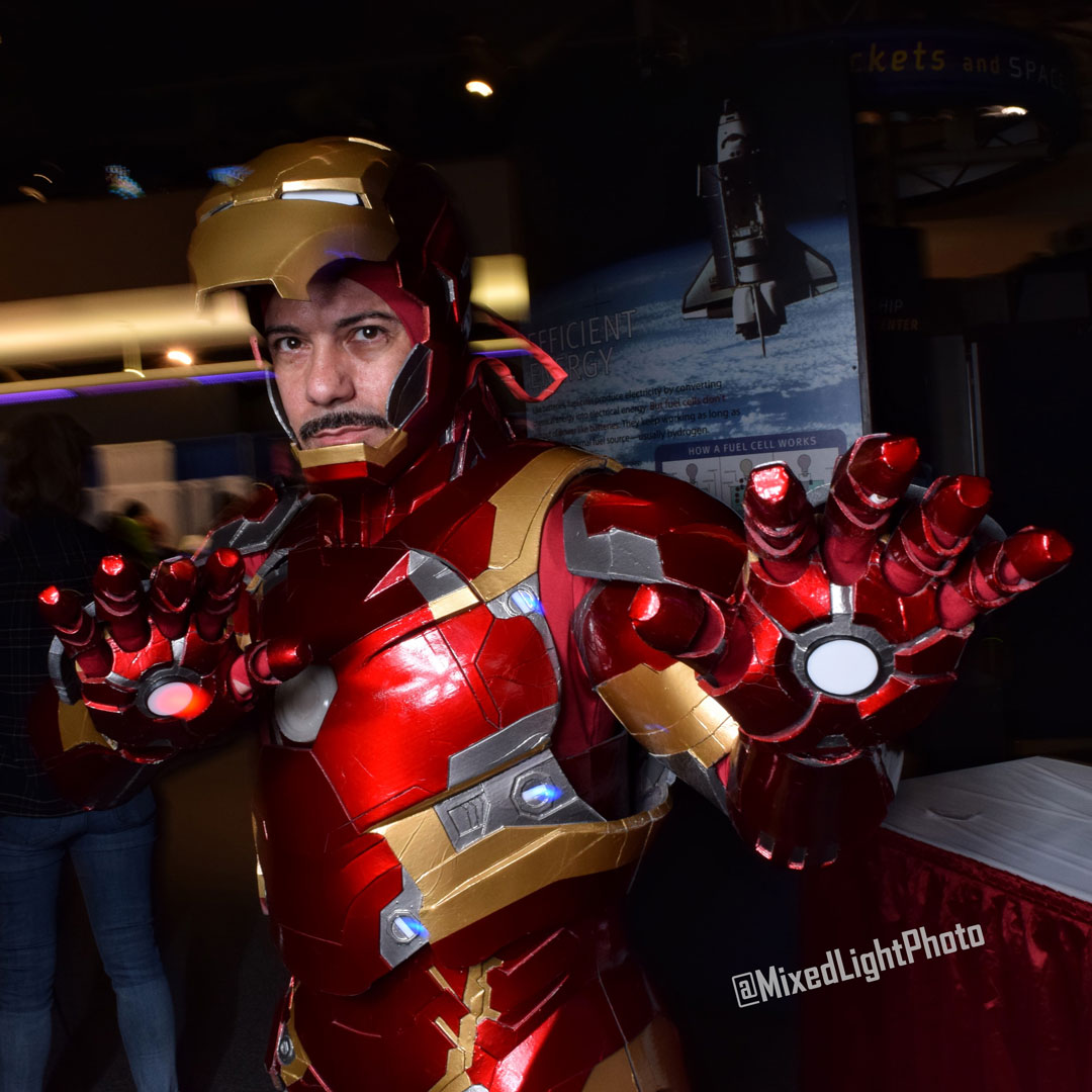 @nytonystark as Tony Stark, Iron Man