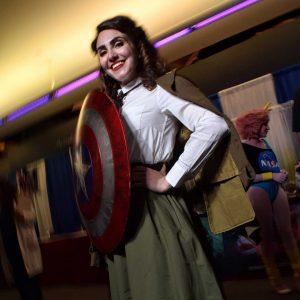 @rebzdeladisco as Peggy Carter