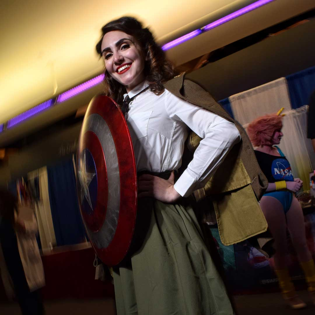 @rebzdeladisco as Peggy Carter